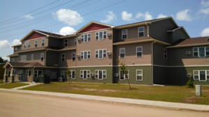 The Landing received more than $2.4 million in development assistance from the state of North Dakota allowing nine of the 26 units in the complex to rent at affordable levels. These units are reserved for people supported by ABLE Inc.