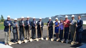 Ground breaking for phase III of North Sky.
